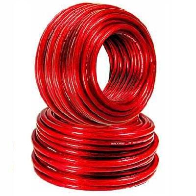 Cable 28/10 (6 mm²) Rojo libre de oxigeno