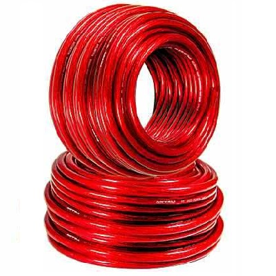 Cable 23/10 (4 mm²) Rojo libre de oxigeno